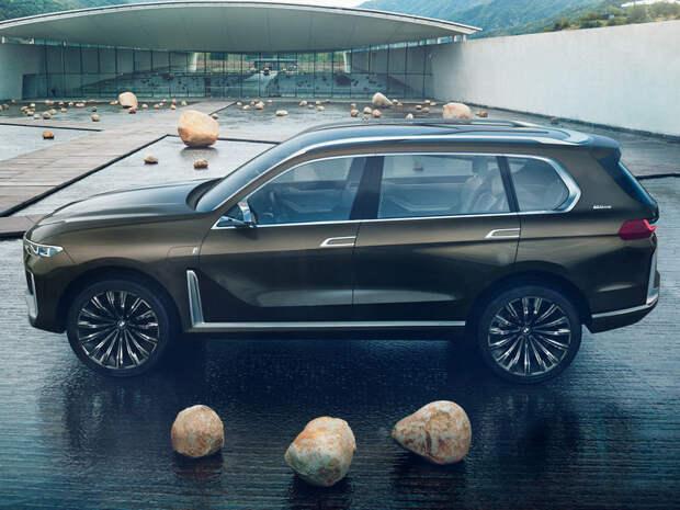 BMW X7 - дождались! bmw x7, авто, автосалон, новинка, франкфурт