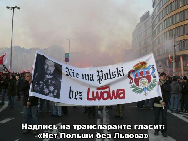Поляки хотят «аннексировать» Львов