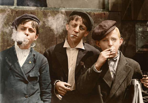 Фотографии детского труда, начала XX века