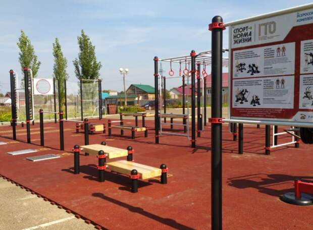 В каждом городе Удмуртии появились новые площадки для сдачи норм ГТО