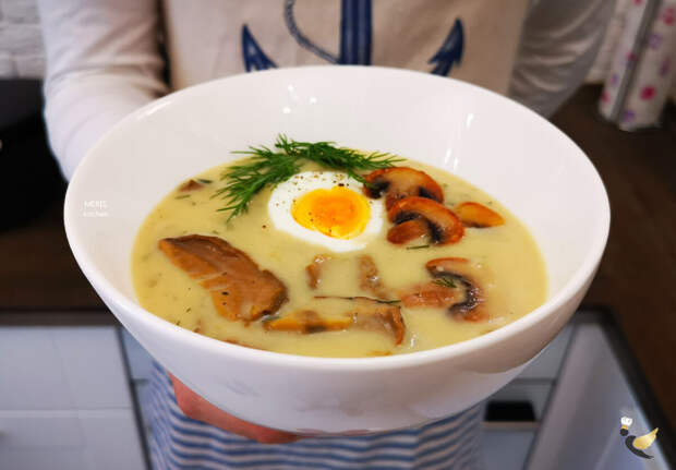 """Рецепт очень вкусного супа грибная """"Кулайда"""" из Чехии: как просто приготовить его дома"""