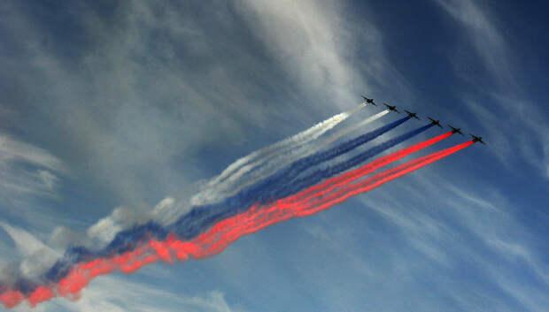 Ограничения для авиации введут в Московском регионе из‑за проведения парада Победы