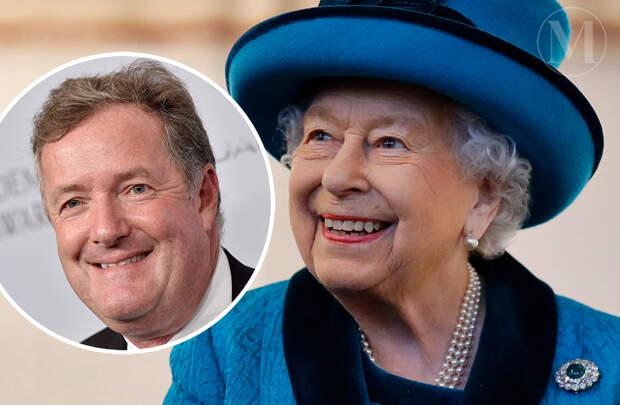 Пирс Морган рассказал, что королевская семья поблагодарила его за поддержку