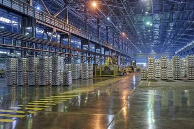"""""""РУСАЛ"""" в 3 квартале увеличил продажи алюминия на 3,3%"""