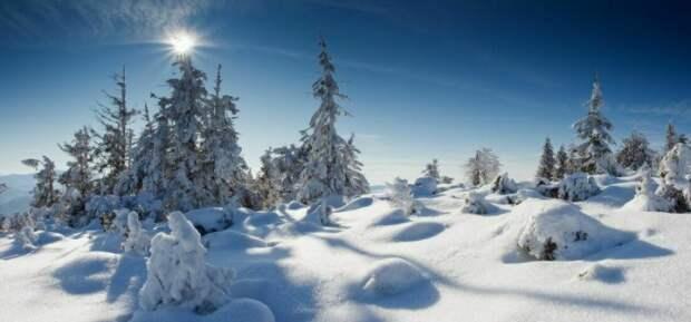 Красивые зимние пейзажи