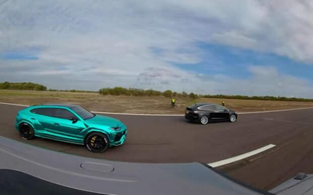 Кто быстрее: Tesla Model X, Lamborghini Urus или «Гелик»? Ответ на видео