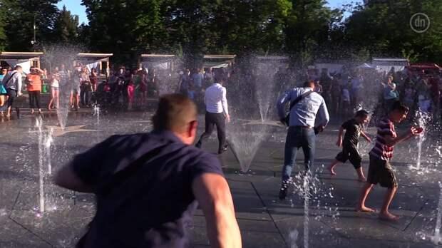 В Кремле жестко отреагировали на пробежку Зеленского через фонтан