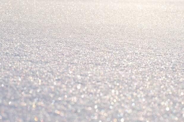 Снежинки, Снег, Боке, Зима, Природа, Холодный