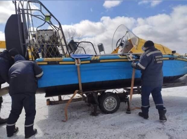 Спасатели не смогли вывезти всех собак, застрявших на острове посреди Томи