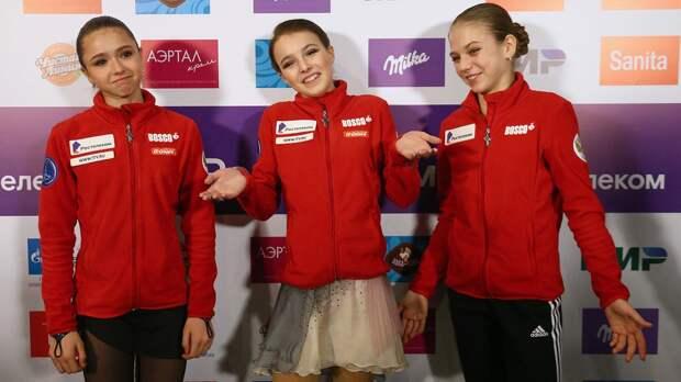 Жулин о составе сборной России на Олимпиаду: «Щербакова, Трусова, Валиева. Косторная пока не вышла на их уровень»