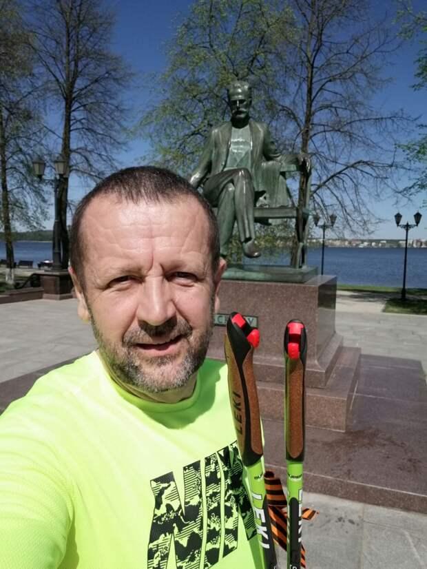 Спортсмен из Удмуртии собрался побить рекорд России в скандинавском стиле