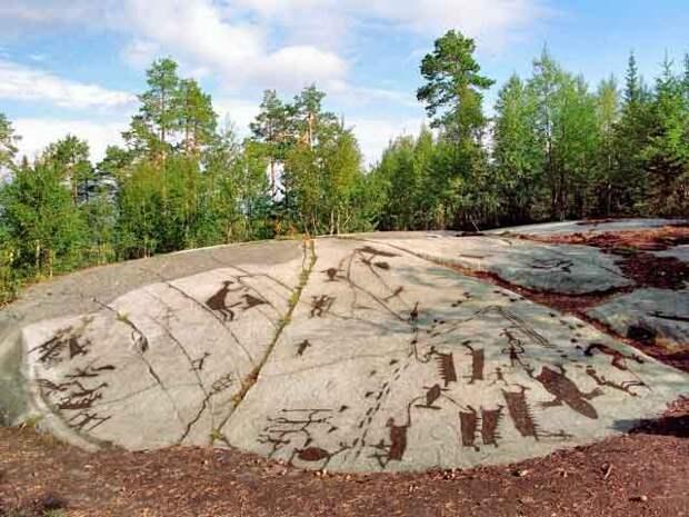 Карельские петроглифы: закодированная история Руси