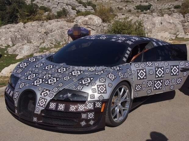 Bugatti засветила новую быстрейшую машину в мире