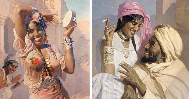 Страсть, зной и душа Востока в картинах «Мастера солнечных лучей» АдамаСтыки