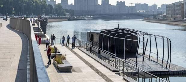 Москвичи назвали речной электротрамвайчик до Печатников «Синичкой»