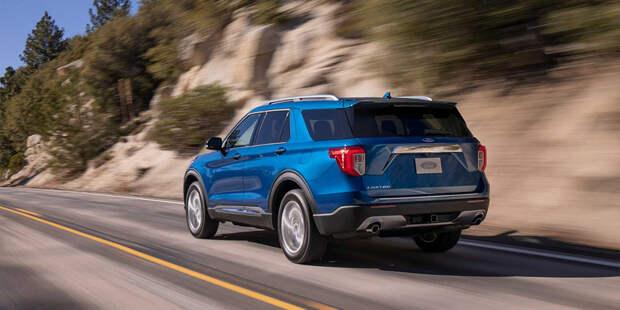 Новый Ford Explorer получил заднеприводную платформу