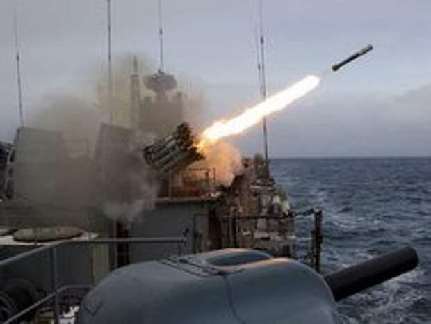 Новость на Newsland: ЧФ России отработал нанесение ракетного удара