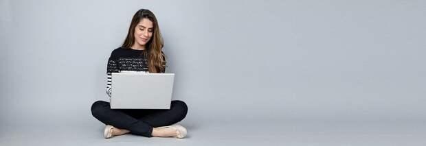Женщина, Ноутбук, Бизнес, Блоги, Блоггер, Женщины