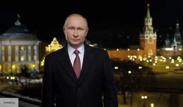 Владимир Путин традиционно обратился к россиянам в преддверии Нового года