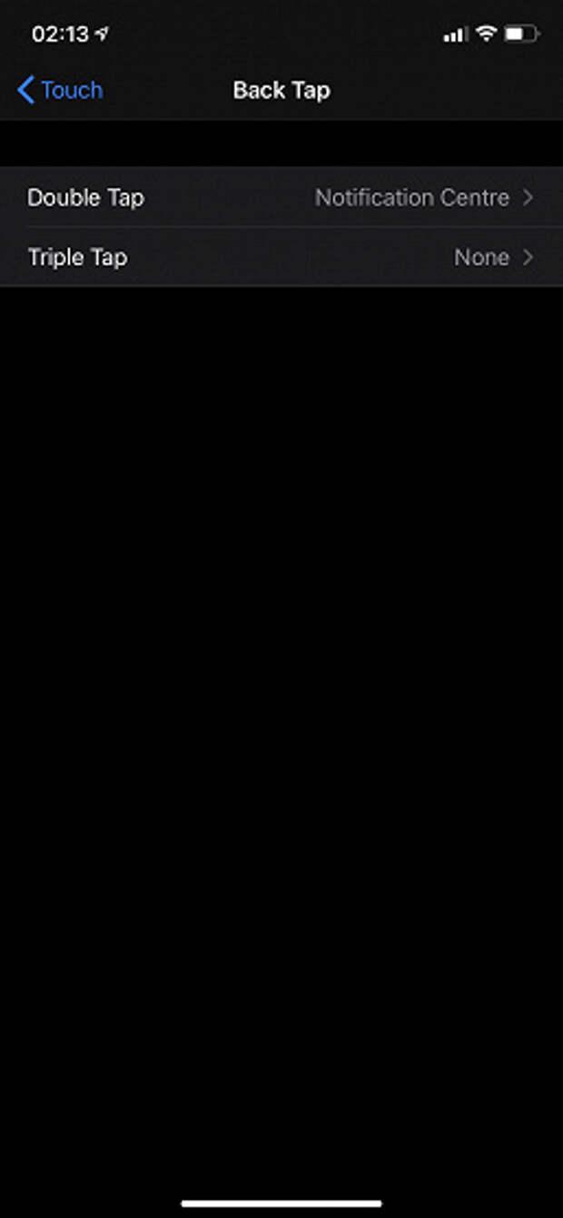 Смартфоны iPhone с iOS 14 смогут распознавать двойное и тройное постукивание по задней панели