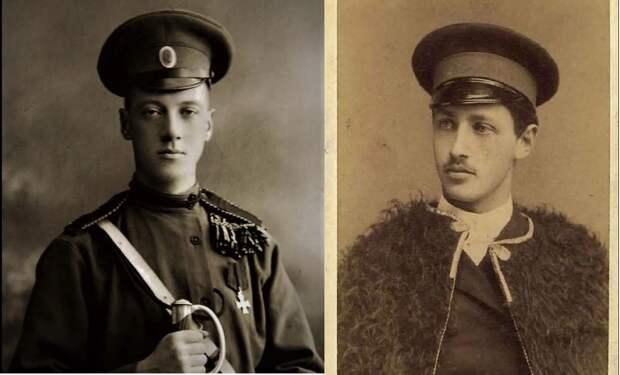 Николай Гумилёв и Иван Бунин.