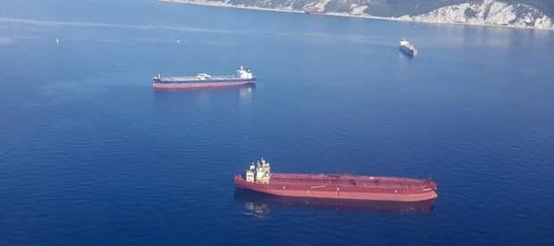 После взрыва на танкере в Азовском море пропали три моряка