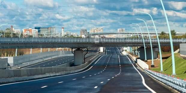 Собянин: Через два года в Москве будет сформирован новый транспортный каркас. Фото В. Новикова. Пресс-служба Мэра и Правительства Москвы