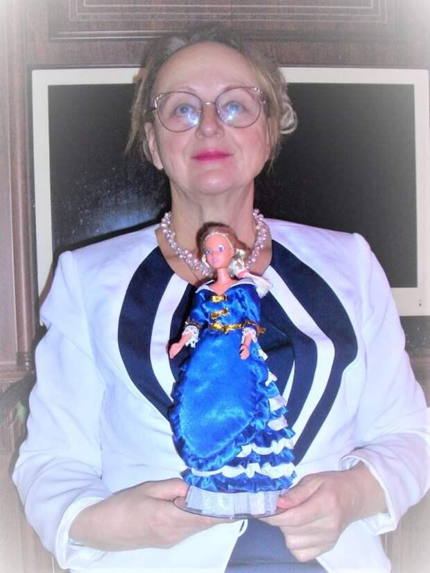 Жительница Алтуфьева провела мастер-класс «Платье для куклы»