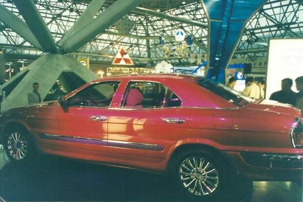 Это новая Волга. автовыставка, автосалон, выставка, ретро фото