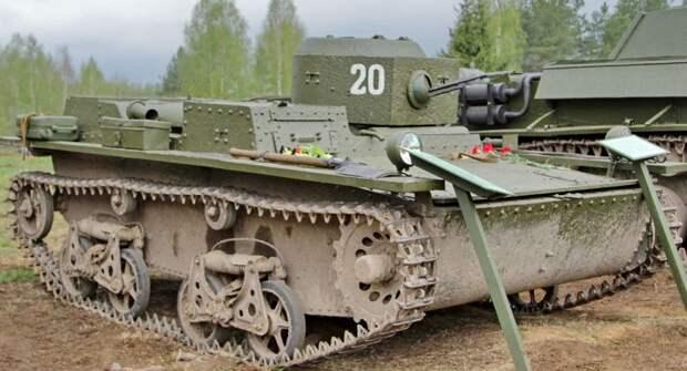 Т38-Советский танк, производство которого пытались повторить за рубежом
