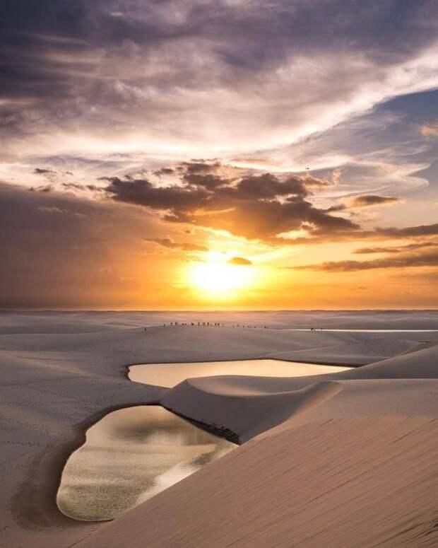 Бразильский нацпарк Ленсойс-Мараньенсис - царство дюн