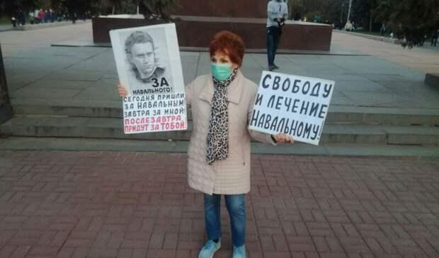Освободить ивылечить Навального потребовали вВолгограде