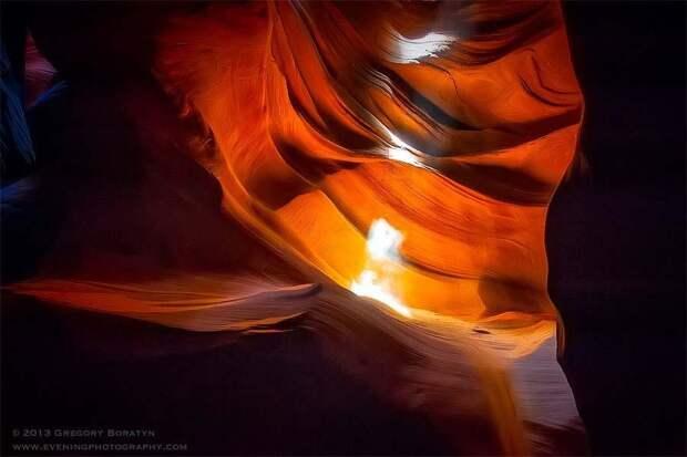 Удивительная красота каньона Антилопы