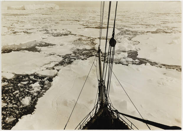 Первая Австралийская антарктическая экспедиция в фотографиях Фрэнка Хёрли 1911-1914 29