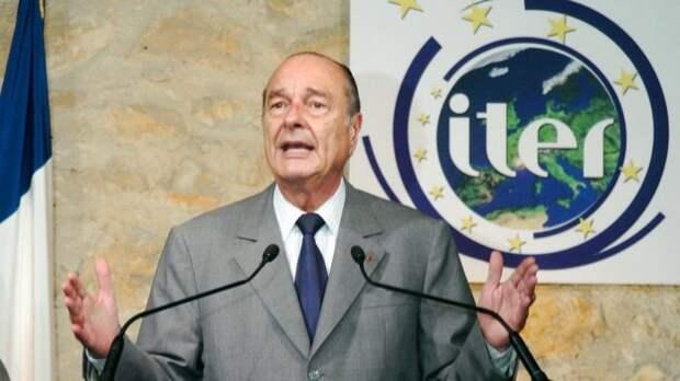 Жак Ширак, 2005 г.