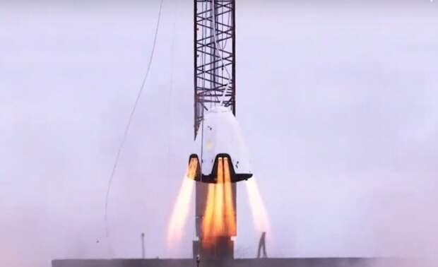 Кораль Dragon-2 успешно вернулся на Землю с МКС