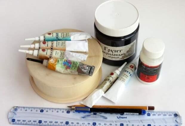 Точечная роспись – какие нужны материалы, инструменты, краска и трафареты?