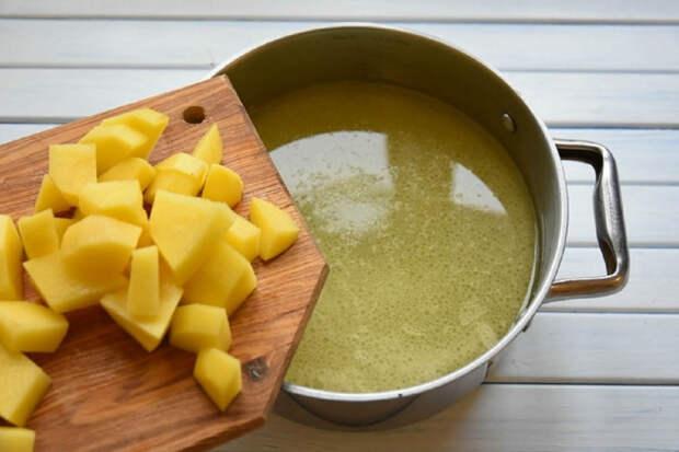добавления картофеля