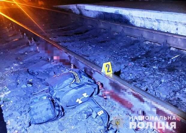 В Сарнах поезд сбил мужчину
