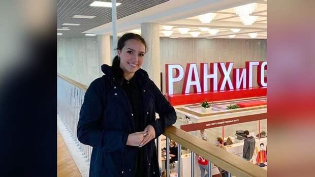Загитова объяснила решение поступить на факультет журналистики