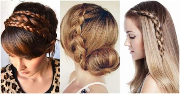 Простые прически с косами для изысканного и женственного образа