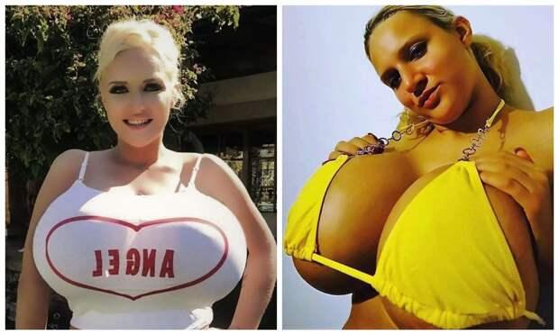 Большая изюминка: убританки такая огромная грудь, что она неможет водить машину