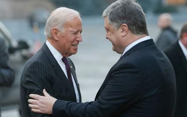На Украине грохнуло: сегодня она сдала Трампу Джо Байдена