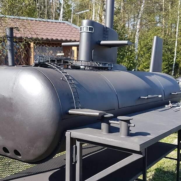 Как должен выглядеть мангал подводника мангал, своими руками, сделай сам