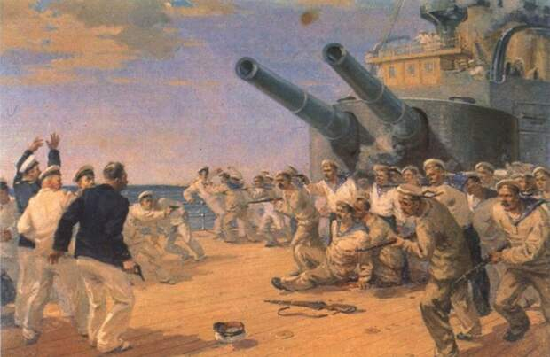 Что принесла революция, капиталист с броненосца «Потёмкин» и конституция 1918 года