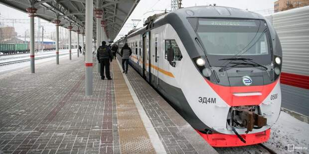 Два дополнительных маршрута поездов ввели до станции «Стрешнево»