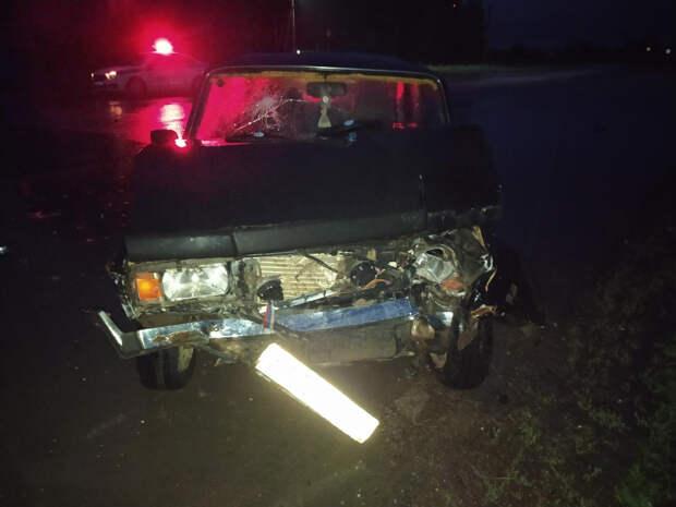 Пьяный водитель устроил ДТП на трассе в Удмуртии
