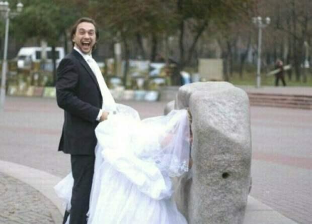 Ох уж этот безумный свадебный переполох брак, жених, невеста, прикол, свадьба, семья, юмор