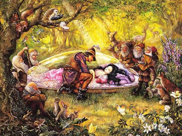 Волшебные картины Жозефины Уолл, ч.1