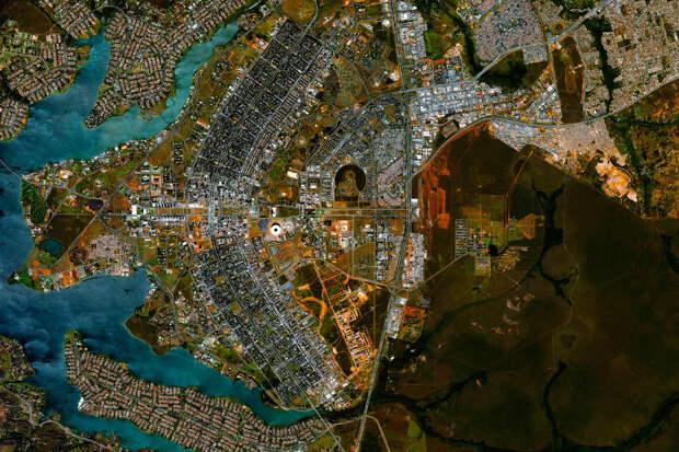 Город Бразилиа, находится в Бразилии